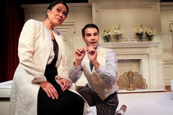 Christine Toy Johnson and Bernardo Cubria Photo