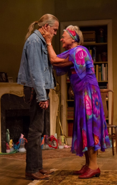 Photo Flash: First Look at Stephen Spinella and Estelle Parsons in THE VELOCITY OF AUTUMN at Arena Stage