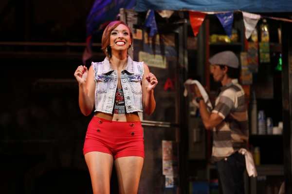 Caitlainne Rose Gurreri is Vanessa and Nick Demeris plays Usnavi