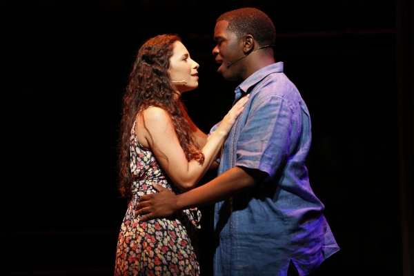 Christina Nieves is Nina and Jonathan Butler-Duplessis is Benny