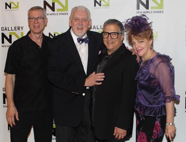 Steve Schlachlin, Jim Brochu, Ken Fallin and KT Sullivan Photo