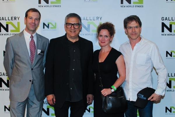 Bernard Stote, Ken Fallin, Greg Schaffert and guest