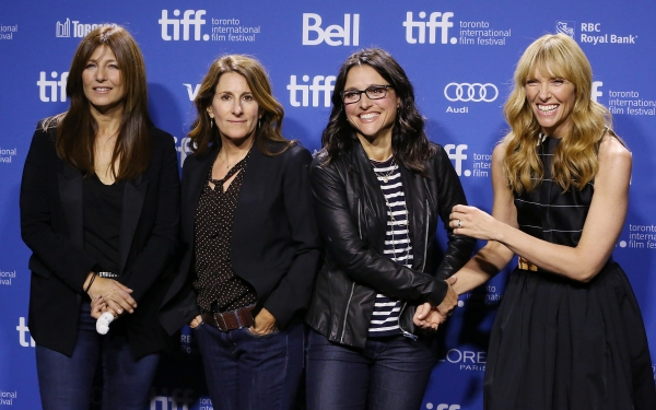 Catherine Keener,  Nicole Holofcener, Julia Louis-Dreyfus and  Toni Collette