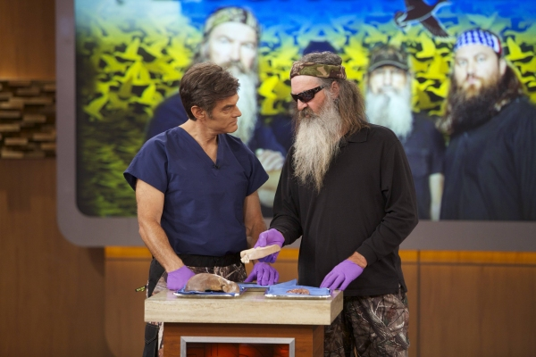 Cast of DUCK DYNASTY, Dr. Oz