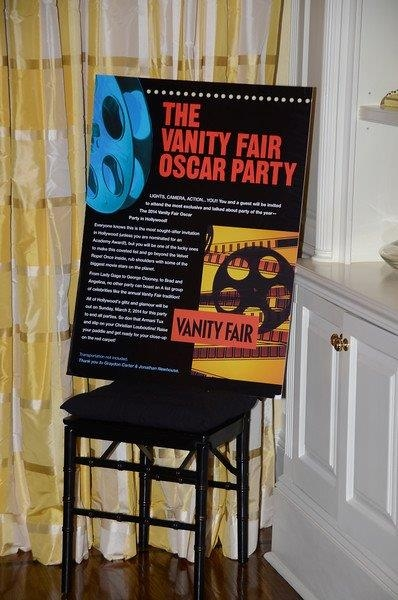 Tix to the Vanity Fair Oscar Party will be auctioned