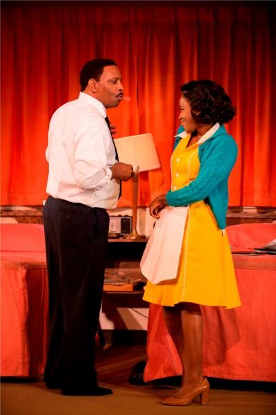 David Alan Anderson (Dr. Martin Luther King Jr.) and Lisa Beasley (Camae)