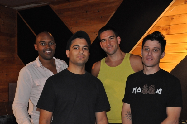 Alvin Hough, Jr., Craig Magnano, Dan Asher and Mike Nappi