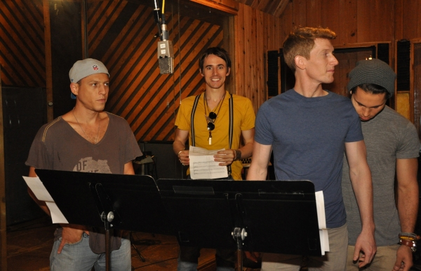 Ari Loeb, Reeve Carney, Jamison Scott and Maxx Reed