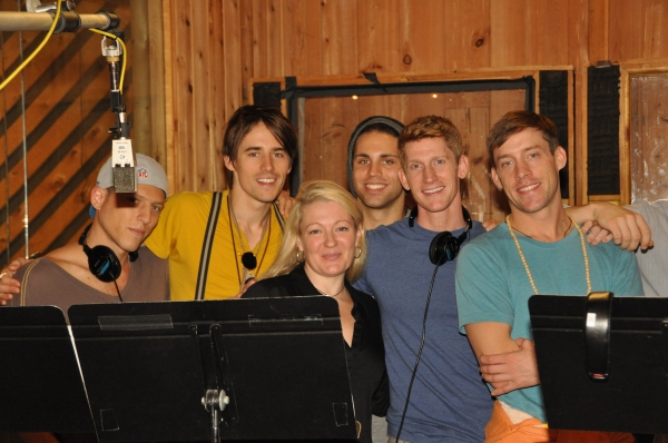 Ari Loeb, Reeve Carney, Lynn Pinto (Producer), Alex Stoll, Jamison Scott and Josh Sassanella