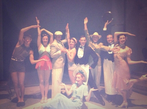 Photo Flash: Saturday Intermission Pics, Sept 14 - THE FANTASTICKS Celebrates 20,000 Performances This Weekend!