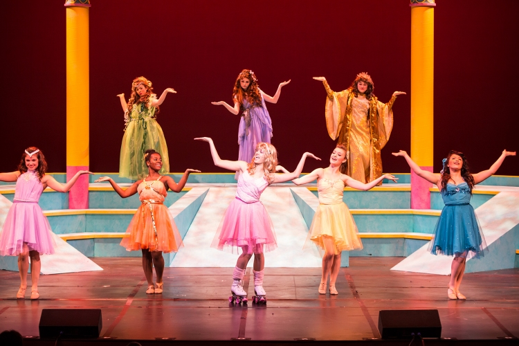 BWW Reviews: Theatre Under the Stars' Humphreys School of Musical Theatre's XANADU Shows Off Talented Youths
