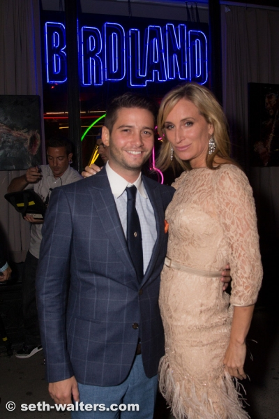 Photo Flash: Cast of REAL HOUSEWIVES OF NEW YORK & More Attend Jim Caruso's CAST PARTY, 9/9