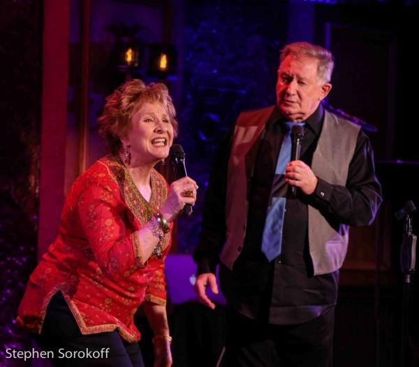 Pamela Myers & Harvey evans
