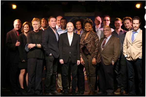 Playwright Rupert Holmes, Ashley Williams, Tom Skerritt, John Douglas Thompson, Patrick Page, Fred Dalton Thompson, Chike Johnson, Lee Sellars, Tijuana Ricks, Tonya Pinkins, John Procaccino, Jeffrey Bender, JR Horne, Dashiell Eaves, Sebastian Arcelus and