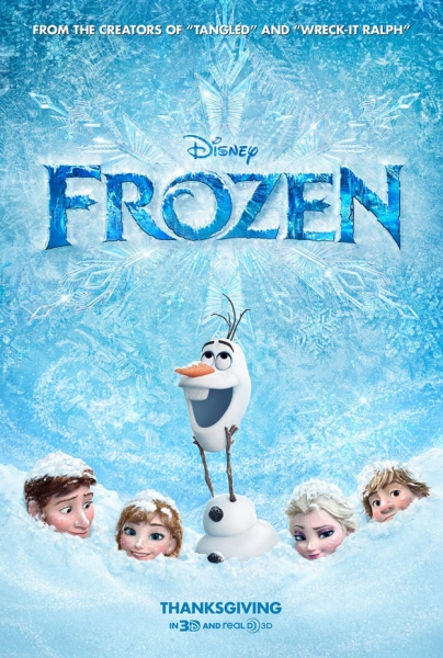 Photo Flash: New Poster Revealed for FROZEN with Idina Menzel, Jonathan Groff & More!