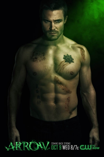 Photo Flash: The CW Unveils New Set of ARROW Season 2 Posters
