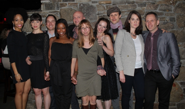 Anne Washburn, Steve Cosson and the cast