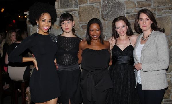 Nedra McClyde, Susannah Flood, Quincy Tyler Bernstine, Colleen Werthmann and Jennifer Photo