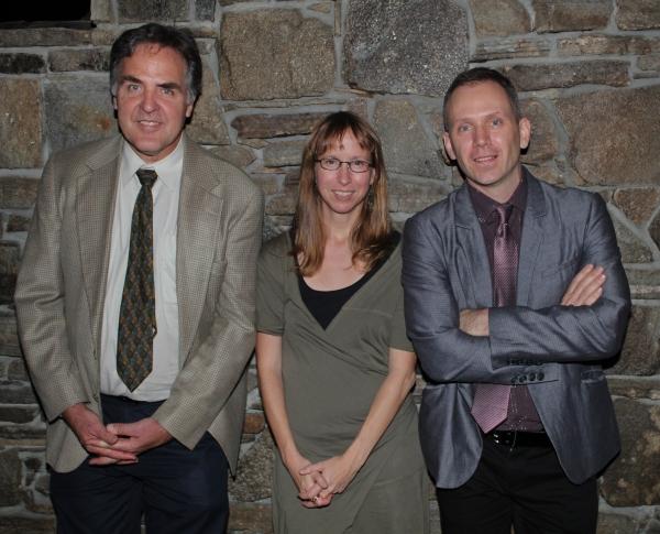 Tim Sanford, Anne Washburn and Steve Cosson Photo