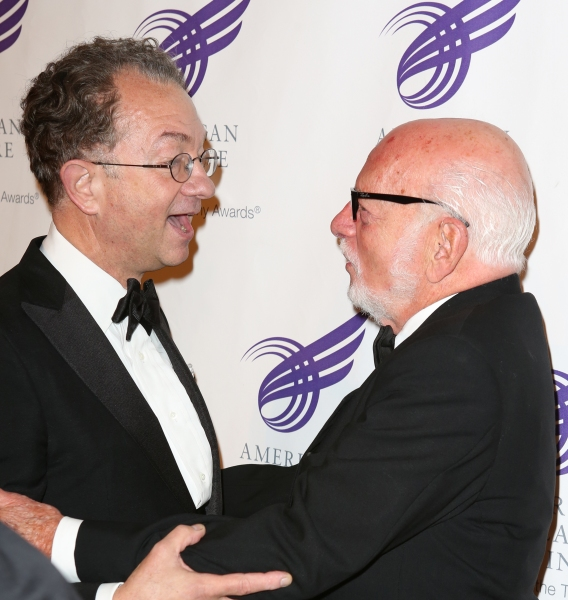 William Ivey Long and Hal Prince