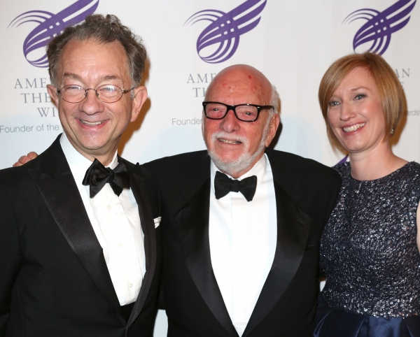 William Ivey Long, Hal Prince and Heather Hitchens