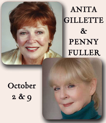 Anita Gillette & Penny Fuller Set for SIN TWISTERS at 54 Below, 3/31 & 4/1