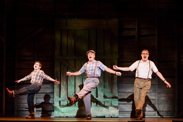 Photo Flash: First Look at Gregg Edelman, Mark Jacoby, Kendra Kassebaum, Johnny Rabe & More in SECONDHAND LIONS at 5th Ave Theatre