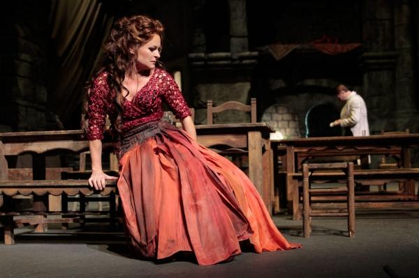 Patricia Bardon in the title role of ''Carmen.''