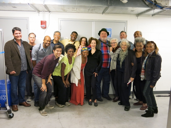 Curtis Billings, Devon Abner, Leon Addison Brown, Charles Turner, Billy Eugene Jones, Hallie Foote, Adam LeFevre, Betty Buckley, Cotter Smith, Arthur French (front row) Sean Lyons, Melle Powers, Susan Heyward, Veanne Cox, Lois Smith, Novella Nelson, Pat B