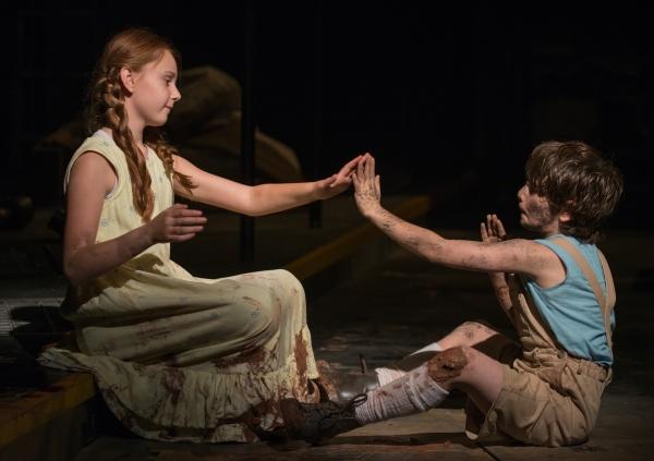The Girl (Emma Gordon) and The Boy (Daniel Pass)