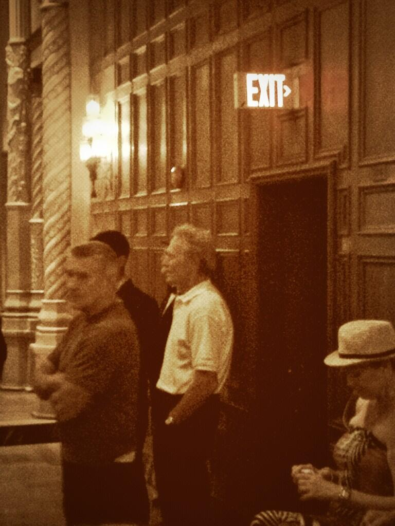 Clint Eastwood Spotted On JERSEY BOYS Set & New On Location Shots