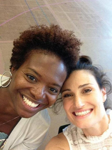 Photo Flash: In Rehearsal for IF/THEN with Idina Menzel, LaChanze, Anthony Rapp & More!