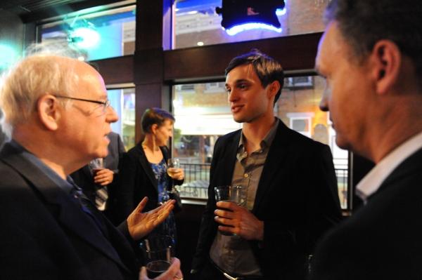 Bruce Joel Rubin, Robby Haltiwanger, Colin Ingram Photo