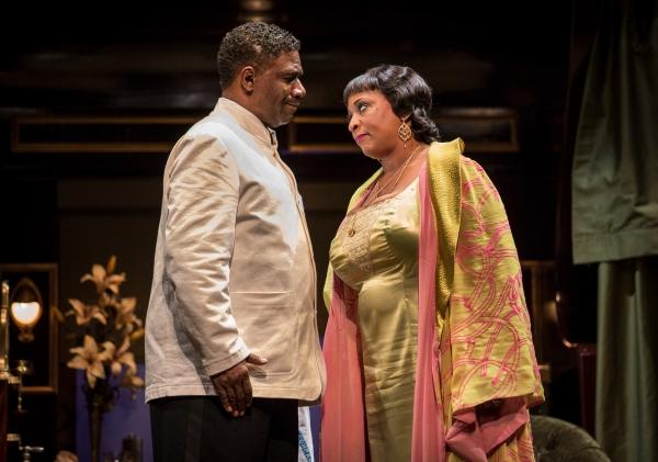 Cleavant Derricks (Sylvester Sykes) and E. Faye Butler (Sister Juba)