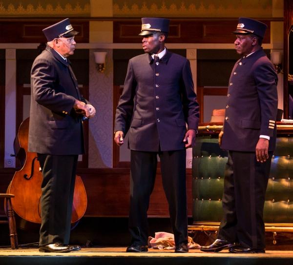 Larry Marshall (Monroe Sykes), Tosin Morohunfola (Cephas Sykes) and Cleavant Derricks (Sylvester Sykes)