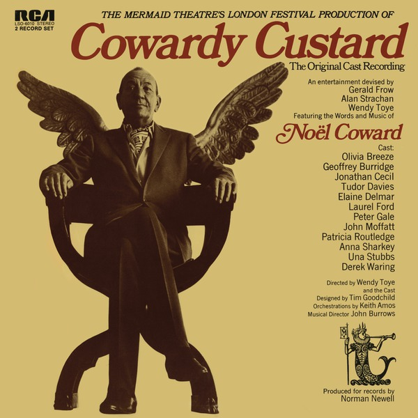 BWW CD Reviews: COWARDY CUSTARD (Original Cast Recording) is Trying and Agitating