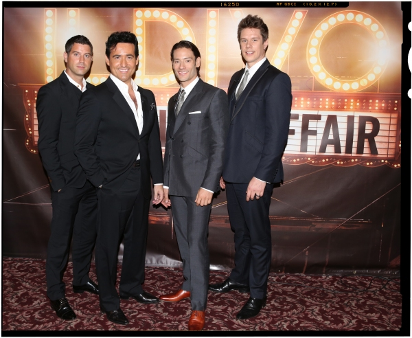 Freeze frame a musical affairs il divo meet the press ahead of sebastien izambard carlos marin urs buhler and david miller from il divo attending the il divo a musical affair press conference at sardis in new york m4hsunfo