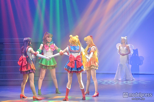 First Production Photos Of New SAILOR MOON Musical; Set For DVD & Streaming