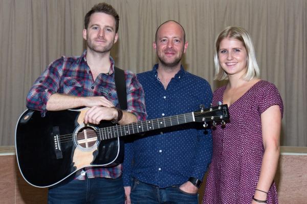 Stuart Ward, John Tiffany, Dani De Waal Photo