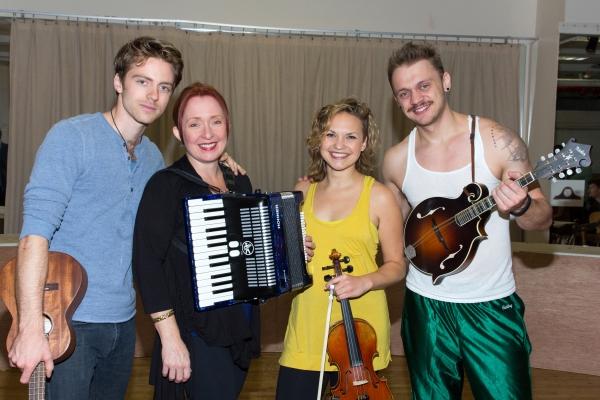 Alex Nee, Donna Garner, Claire Wellin, Matt DeAngelis Photo