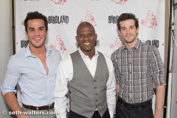 John Duff, Ryan Shaw and AJ Lively Photo