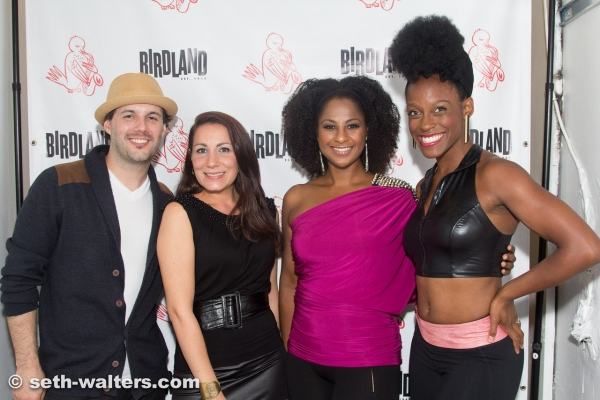 Mat Cusson, Rachel Valdati, Nicole Lewis and Kimberly Marable