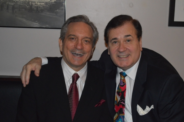Martin VIdnovic and Lee Roy Reams