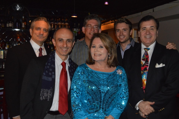 Martin VIdnovic, Stephen de Rosa, Paul Chamlin, Lee Roy Reams, in front Randie Levine Miller