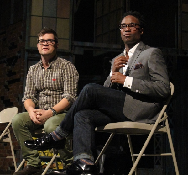 Photo Coverage: Cyndi Lauper, Stephen Oremus & Billy Porter Take Part in Talkback at KINKY BOOTS