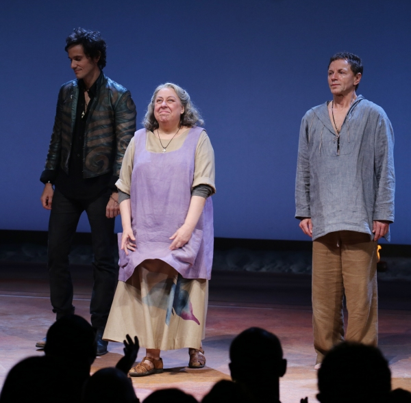 Christian Camargo, Jayne Houdyshell and Brent Carver