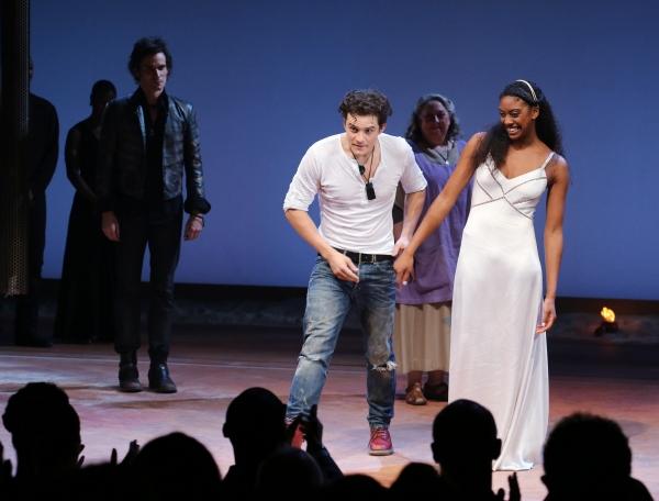 Christian Camargo, Jayne Houdyshell, Orlando Bloom & Condola Rashad  Photo