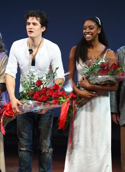 Orlando Bloom and Condola Rashad  Photo
