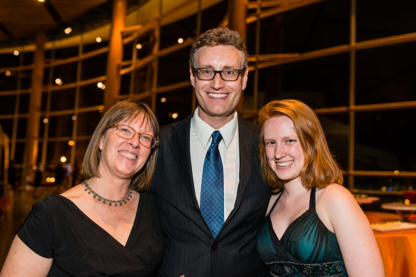 Playwright Eric Coble, Wife, Daughter