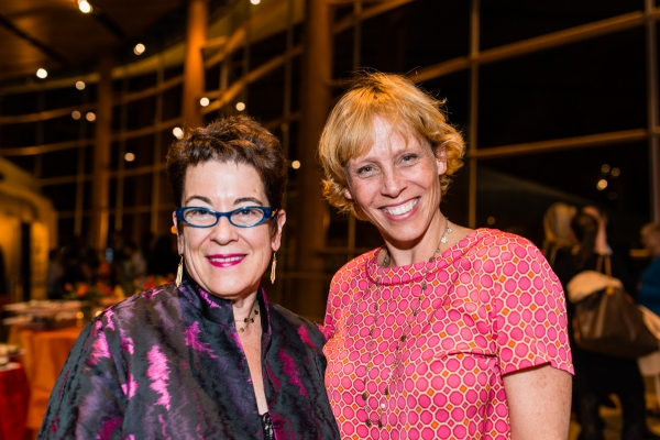Artistic Director Molly Smith and Lucie Tiberghien